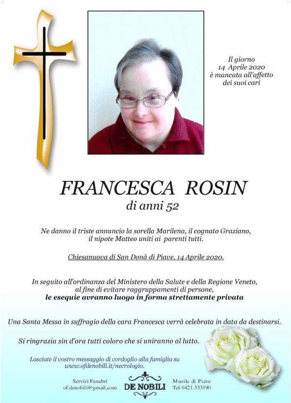 Francesca Rosin