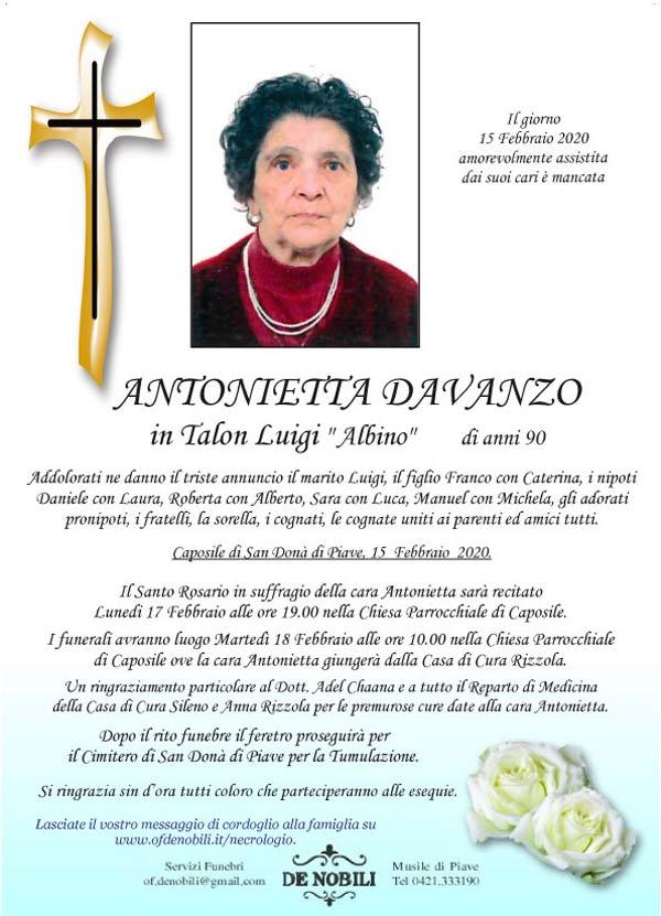 Antonietta Davanzo