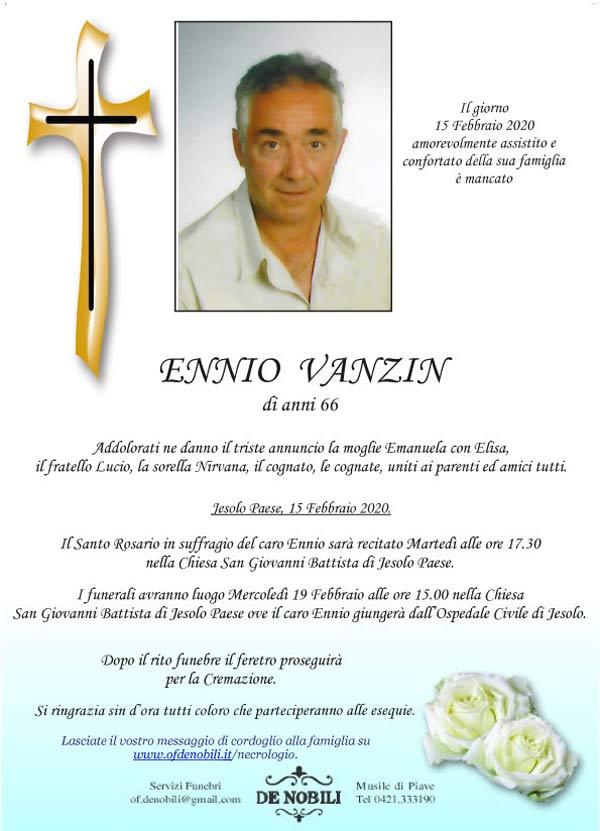Ennio Vanzin
