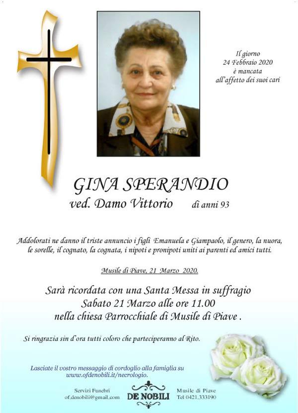 Gina Sperandio