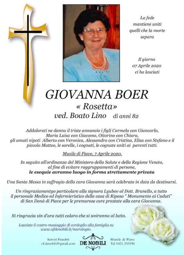Giovanna Boer