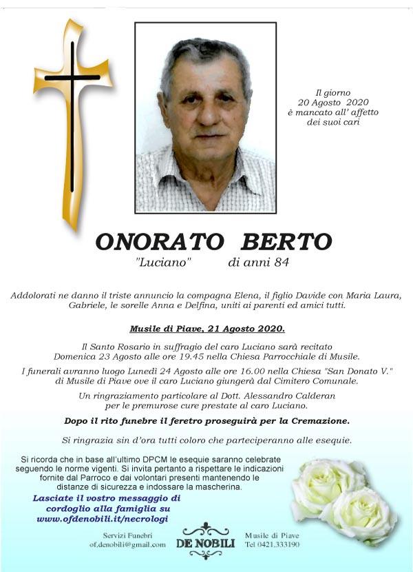 Berto Onorato