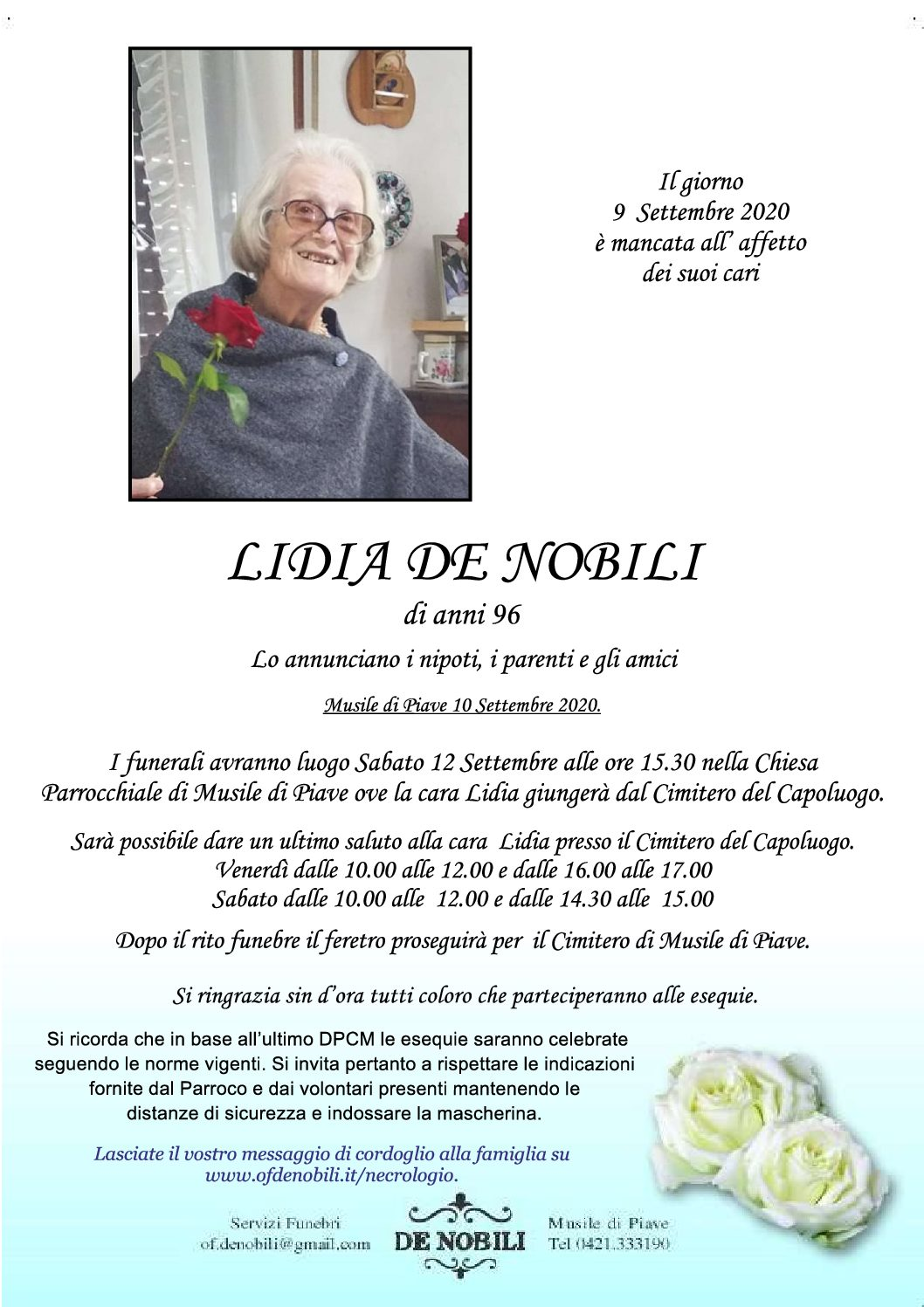 Lidia De Nobili