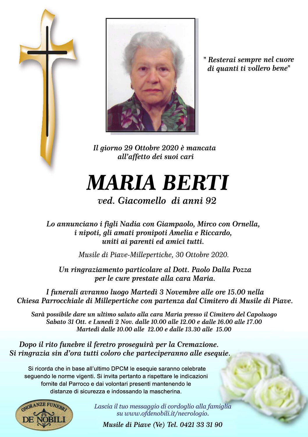 Maria Berti