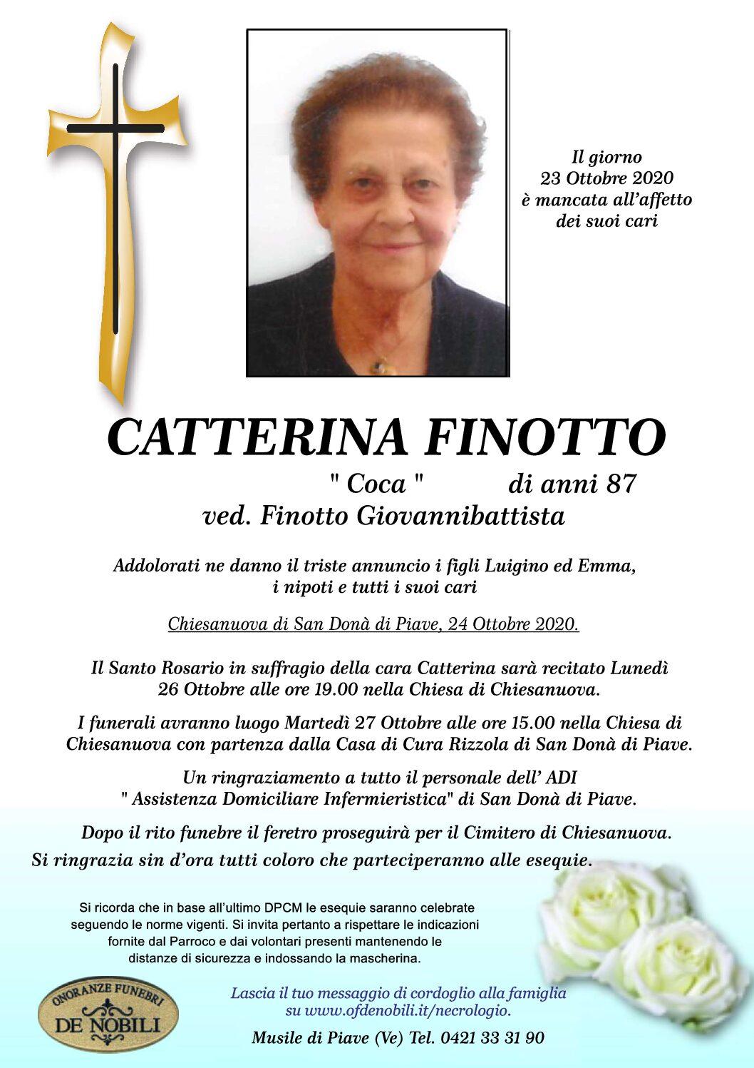 Catterina Finotto