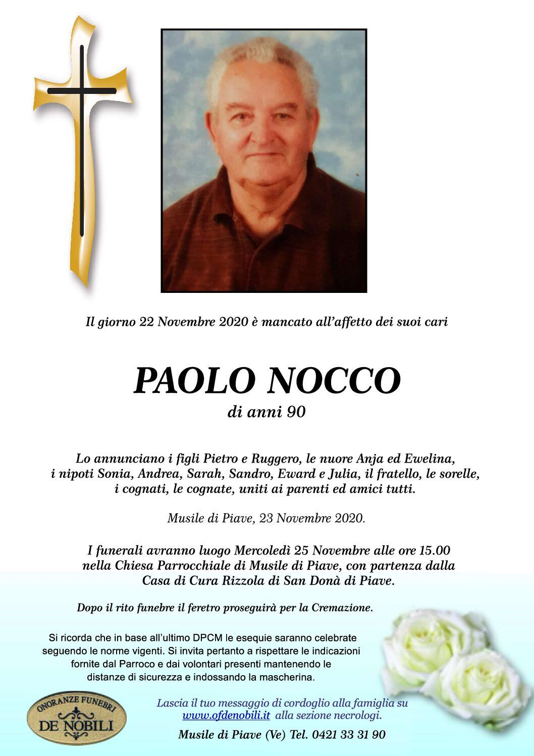 PAOLO NOCCO