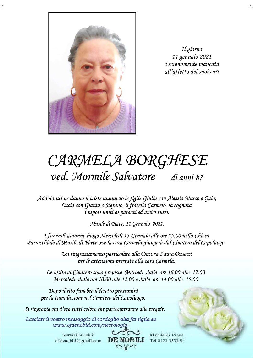 Carmela Borghese