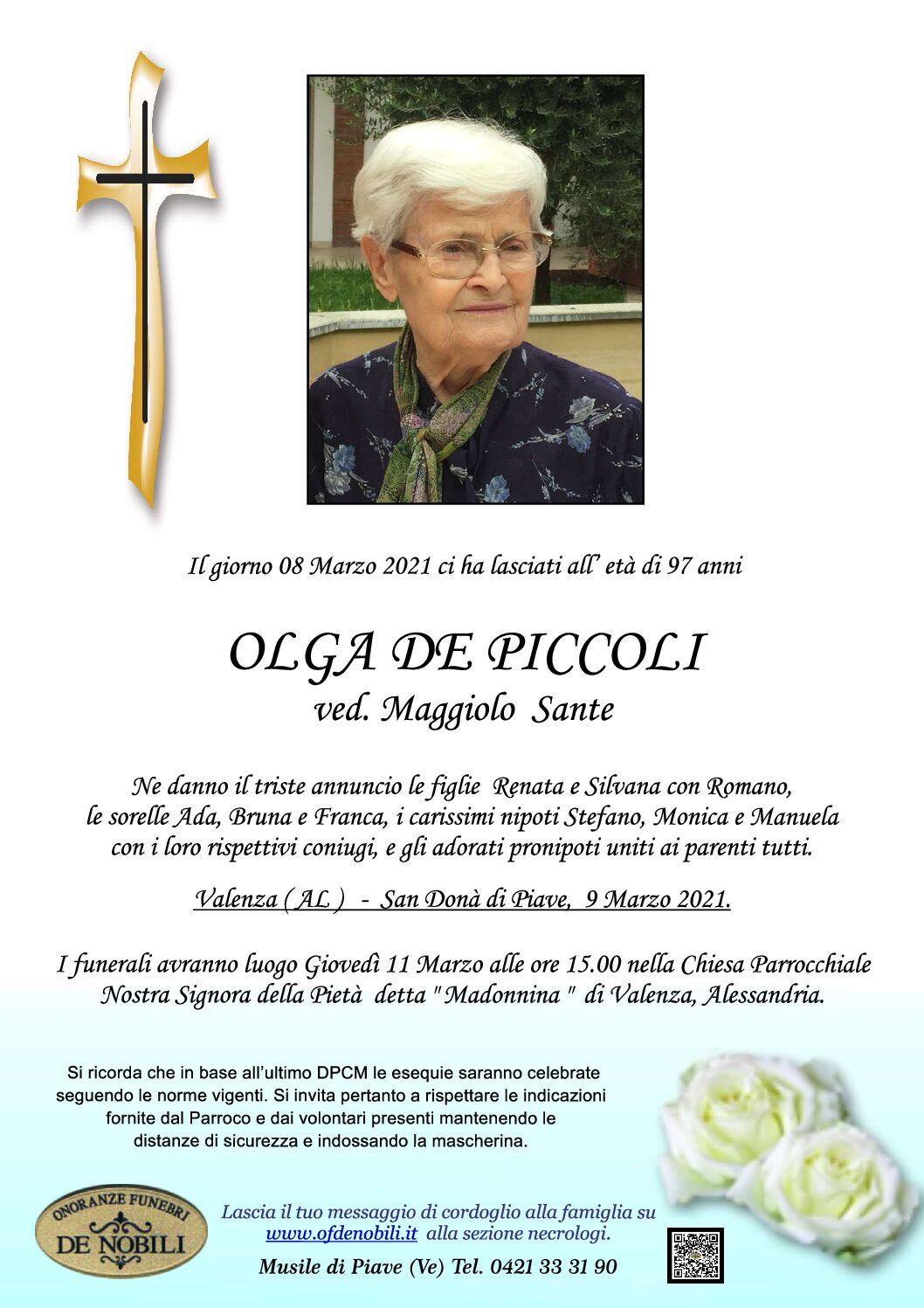 OLGA DE PICCOLI