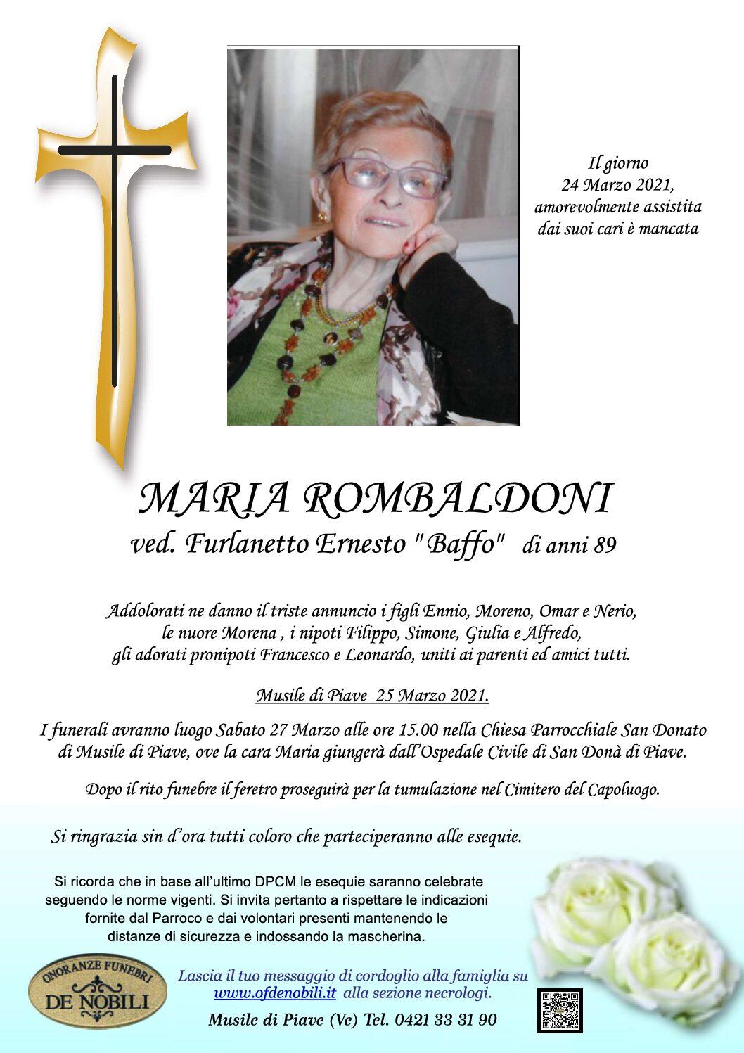 Maria Rombaldoni