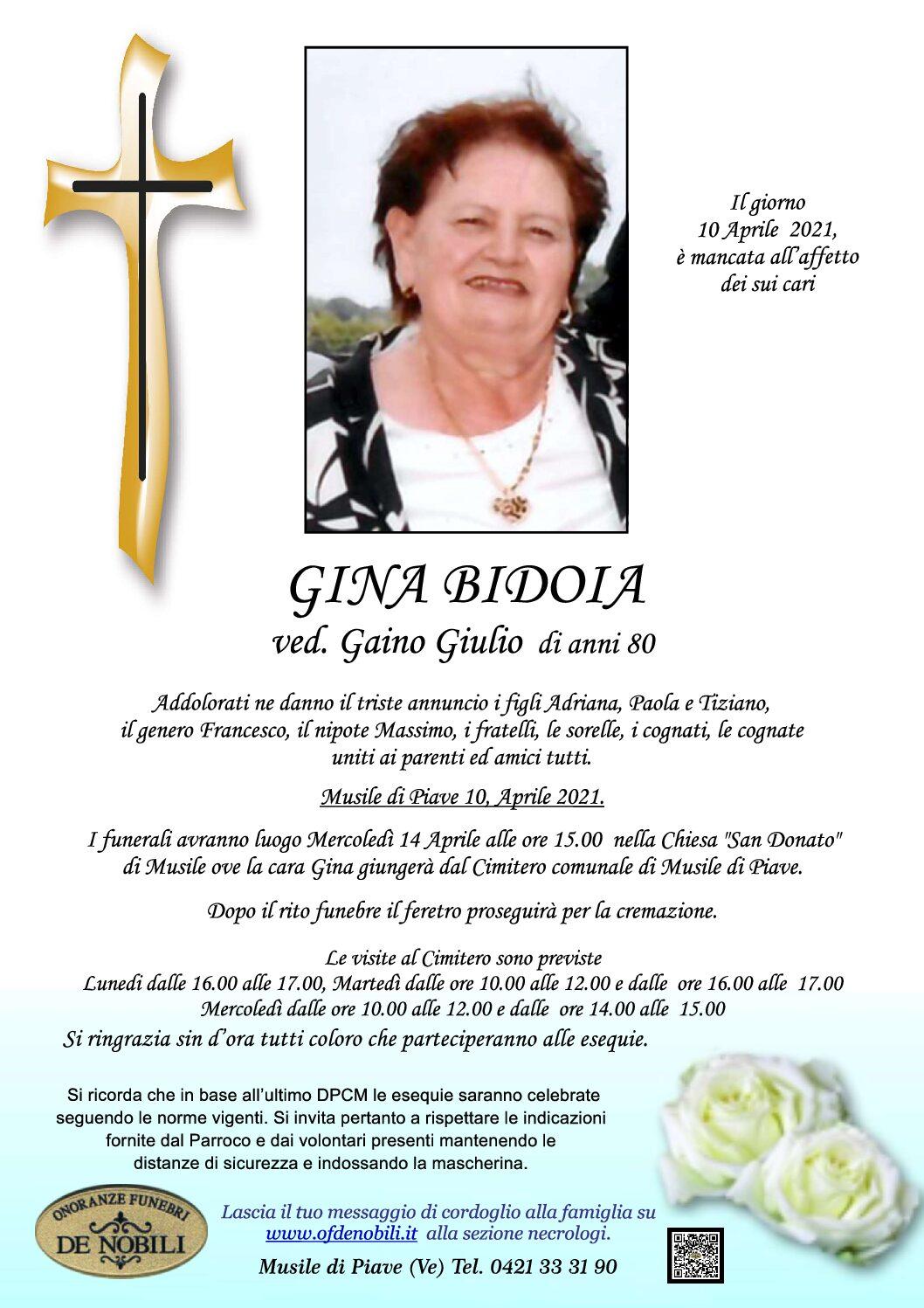 Gina Bidoia